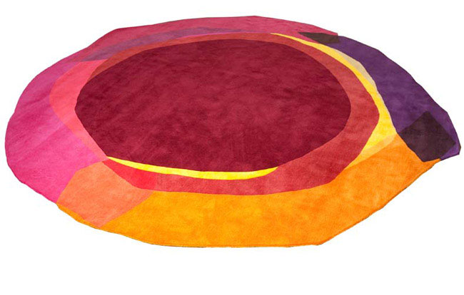 Irregular Shaped Rug sonya winner modern rug