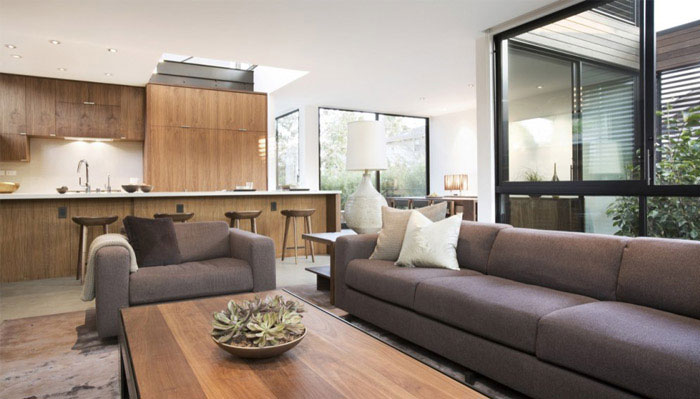Eco friendly Stylish Home interior livingroom