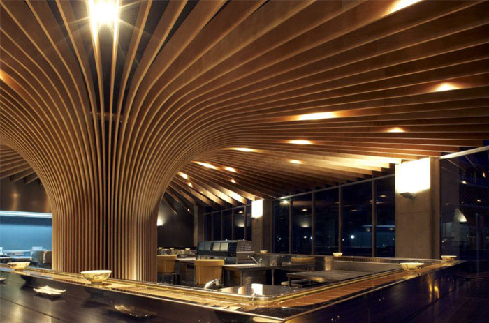 Tree Restaurant in Sydney modern dining concept