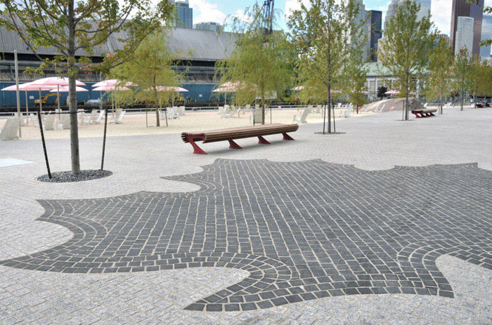 Second Urban Beach plaza space