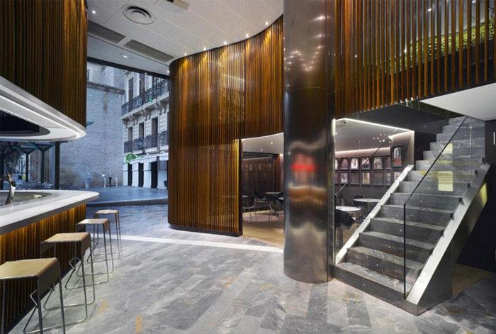 New Café del Arco redesign café del arco
