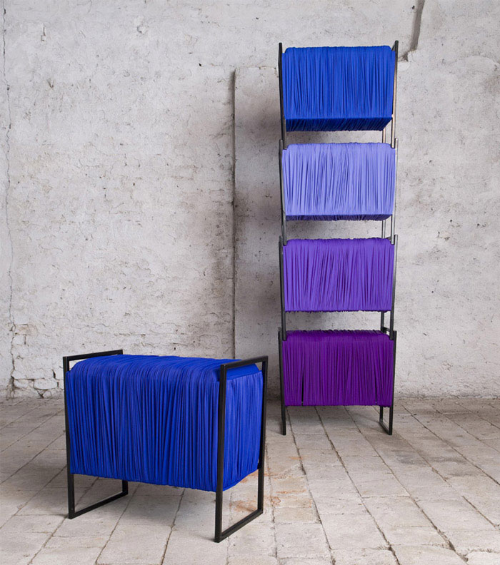 Flexible Fabric Storage   stacking storage