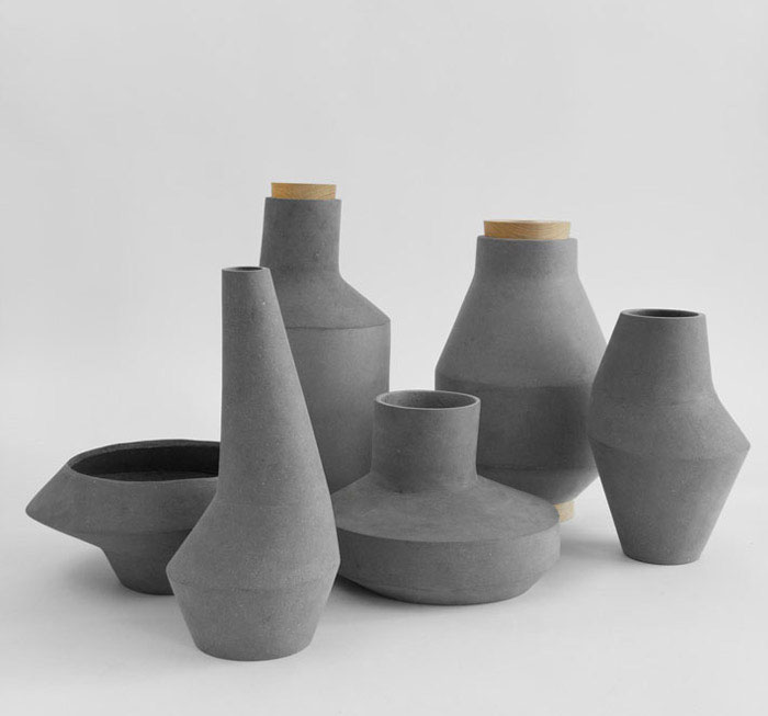 Biodegradable Cellulose Vases InteriorZine