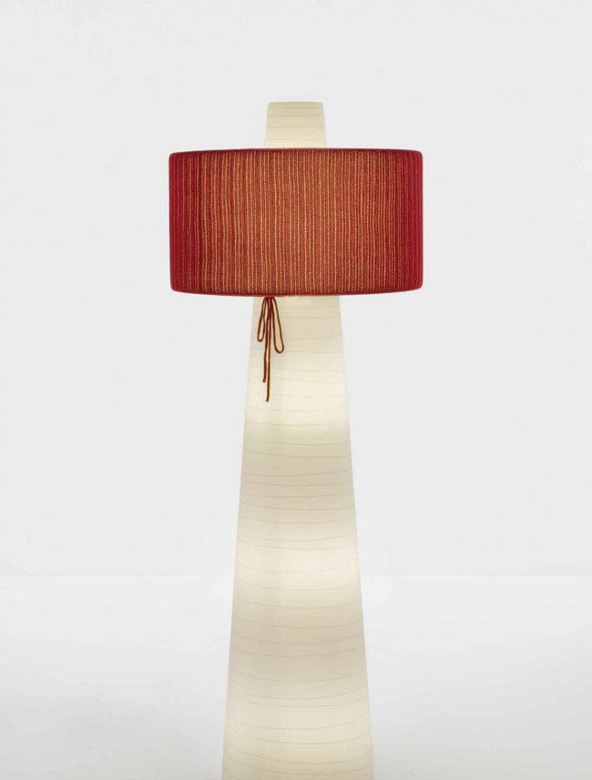 UP Floor Lamp floor lamp textile deco