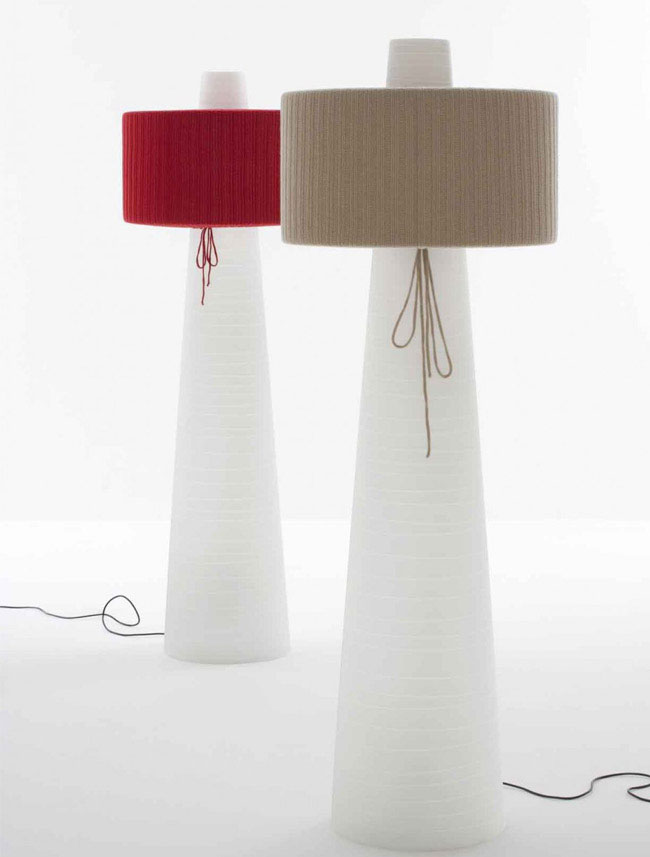 UP Floor Lamp floor lamp textile design