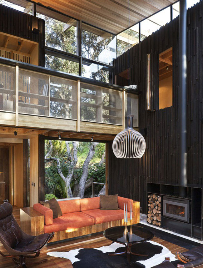 Apartment Interior With 4 Rooms: Two Story Beach House