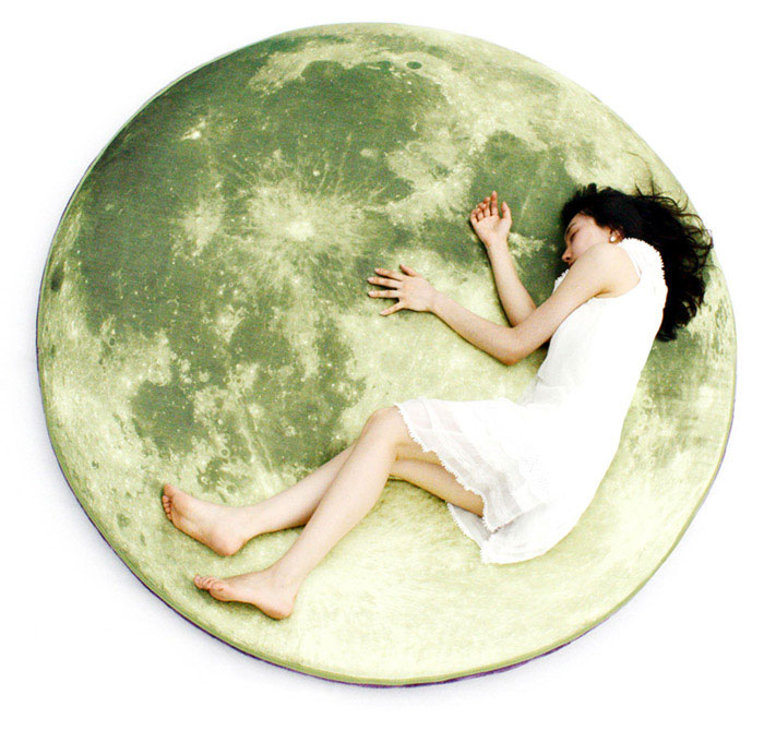 Full Moon Odyssey Floor Mattress &Pillow fullmoon bed