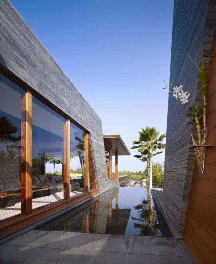 Hawaiian pavilion kona residence outdoor