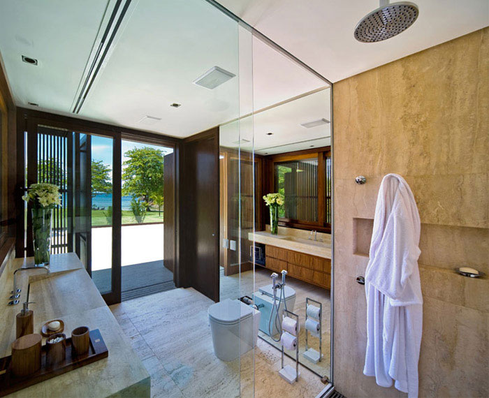 Summer House summer house interior bathroom