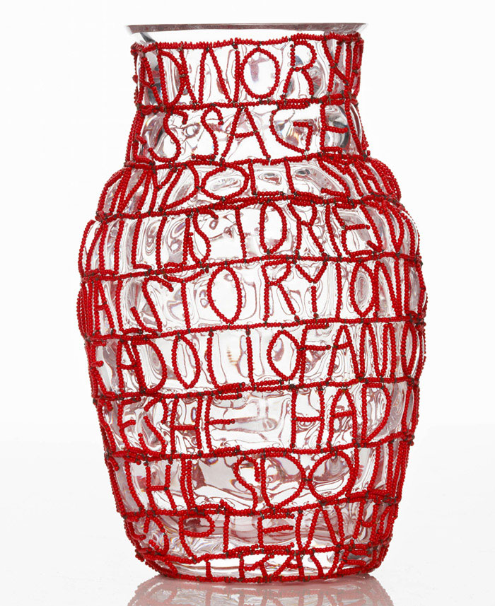 Story vases front story vases red