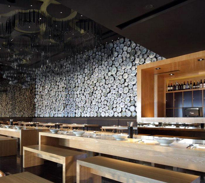 Taiwan Noodle House by Golucci noodle bowls decor