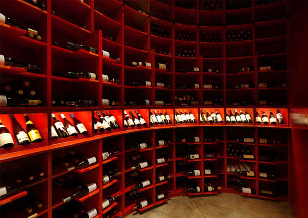 The Tastings Room by Studio SKLIM wine cellar decor