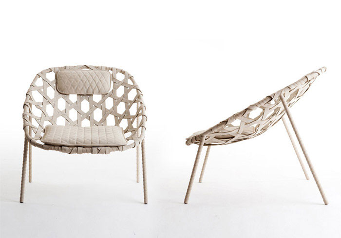 Coracle Lounge Chair by Benjamin Hubert for De La Espada handmade chair benjamin hubert