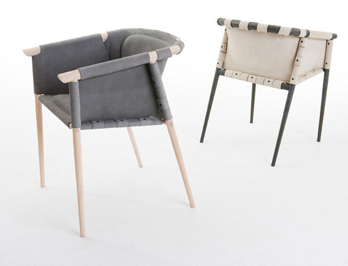 Coracle Lounge Chair by Benjamin Hubert for De La Espada product design chairs