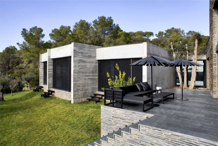 Contemporary Residence in Spain contemporary residence spain