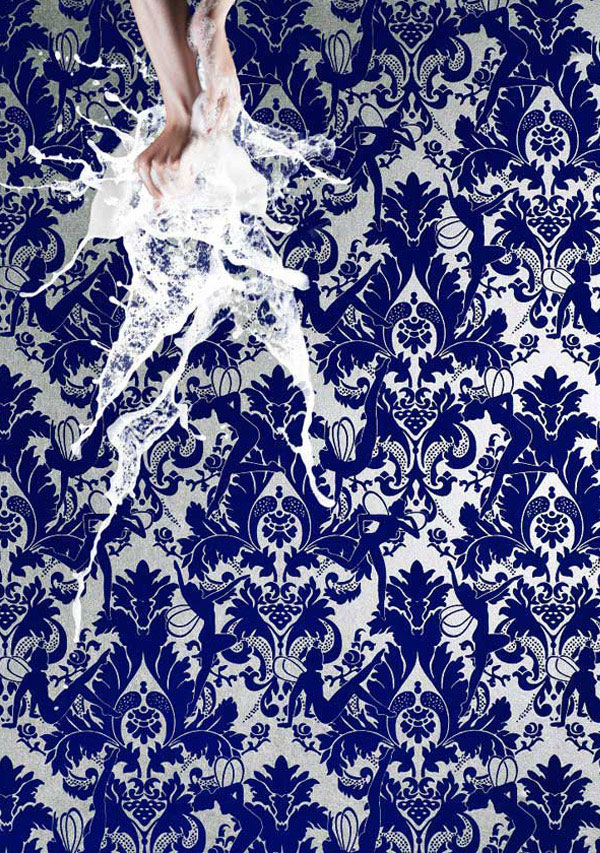 New Flocked Wallpaper Design Collection graham brown forest muses