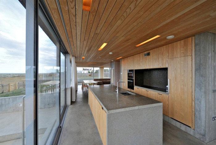 A levitating house levitating house interior kitchen