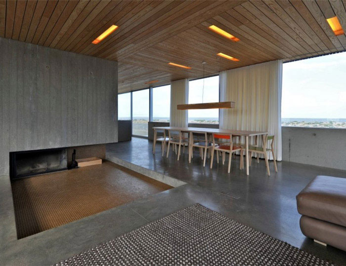 A levitating house levitating house interior living area