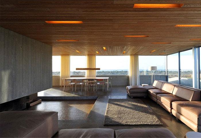 A levitating house levitating house interior living room