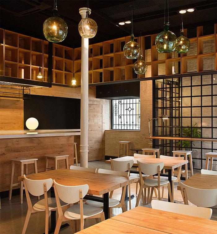 Restaurant PaCatar restaurant pacatar interior dining area