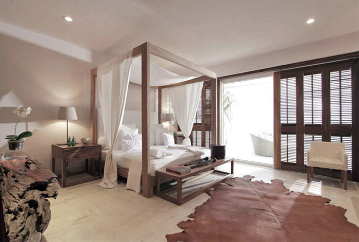 Contemporary Mexican Style House contemporary mexican style house bedroom interior