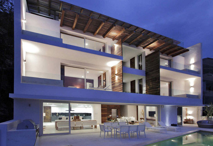 Contemporary Mexican Style House contemporary mexican style house