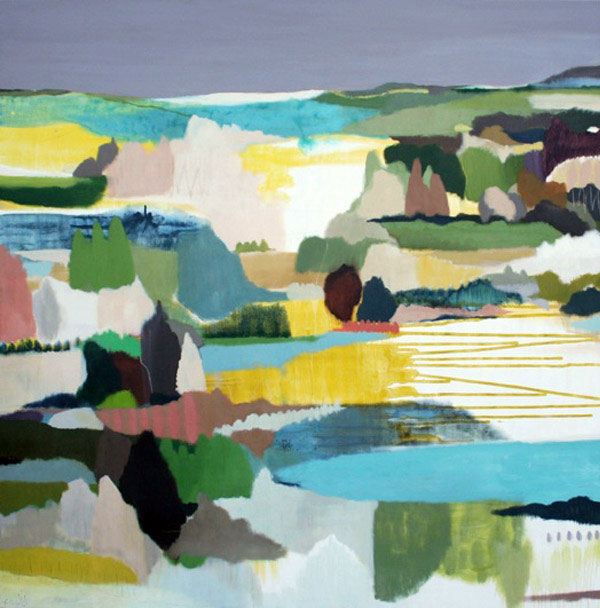 Australian Modern Abstract Landscape  modern abstract landscape2