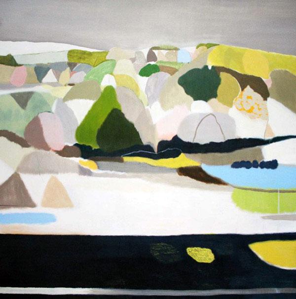 Australian Modern Abstract Landscape  modern abstract landscape4