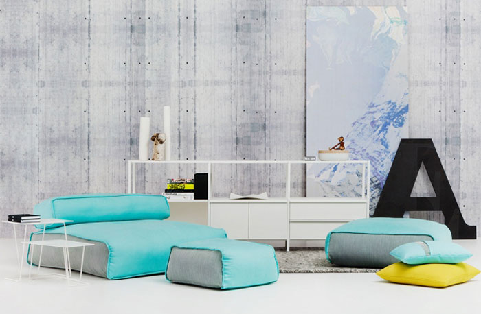 Chill Out Space floor cushions