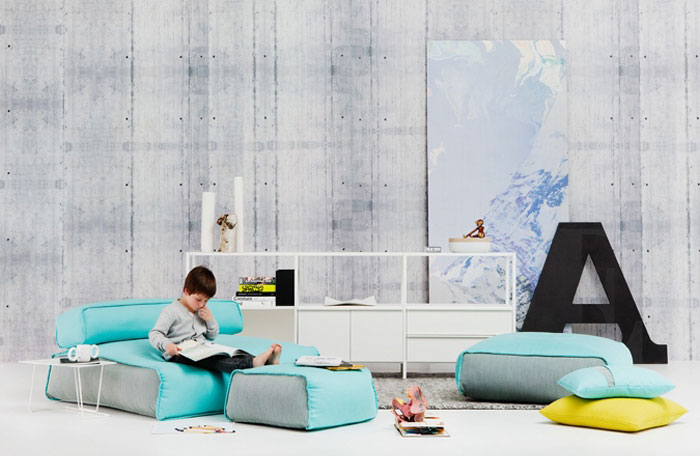 Chill Out Space oversized floor cushions1