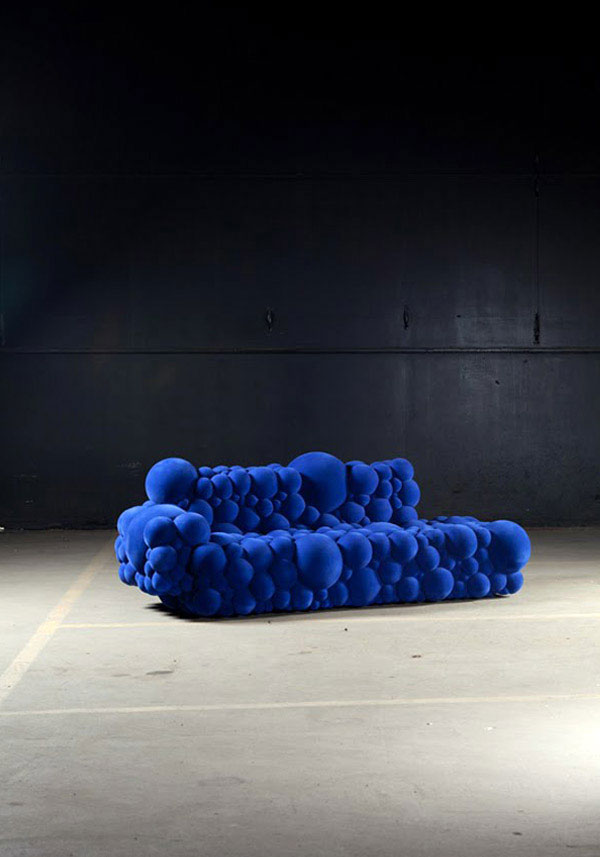 Contemporary and Sculptural Furniture highly contemporary sofa