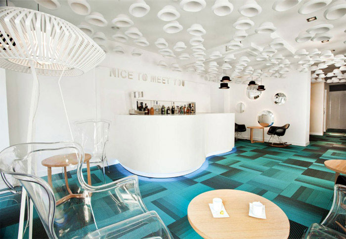 A cry of colour hotel reception interior decor3