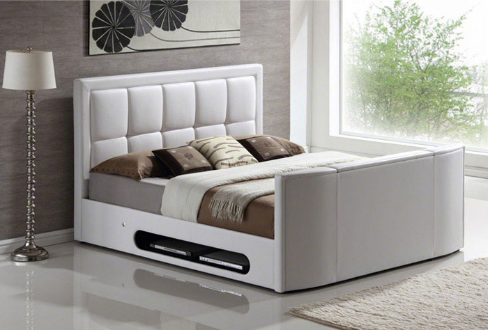 Television Design Solutions   bedroom tv bed