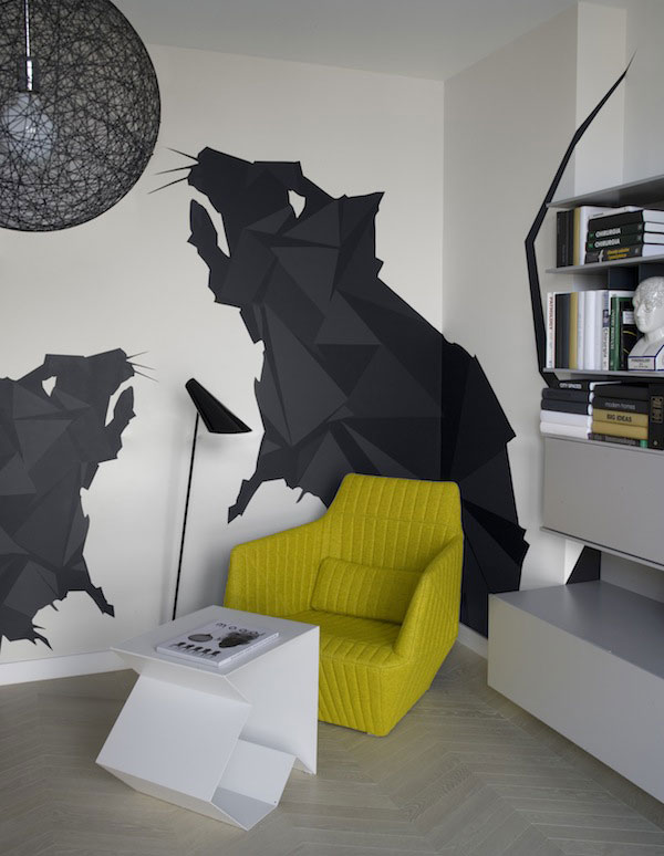 Amazing Interior Design by Morphostudio  morphostudio modern wall decor