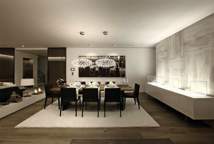 Natural Modern Look natural modern interiot dining1