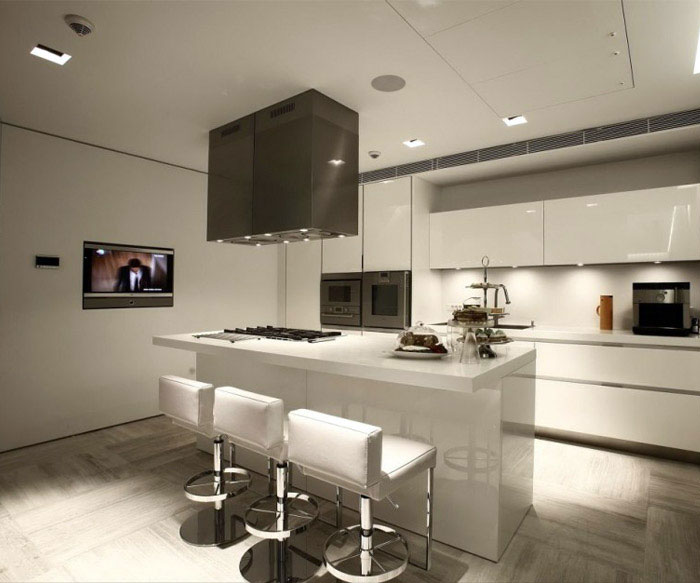 Natural Modern Look natural modern interiot kitchen