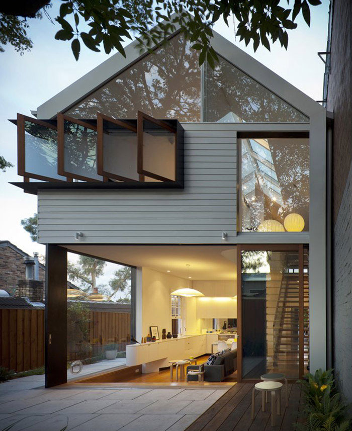 Stylish Home in Sydney stylish home garden