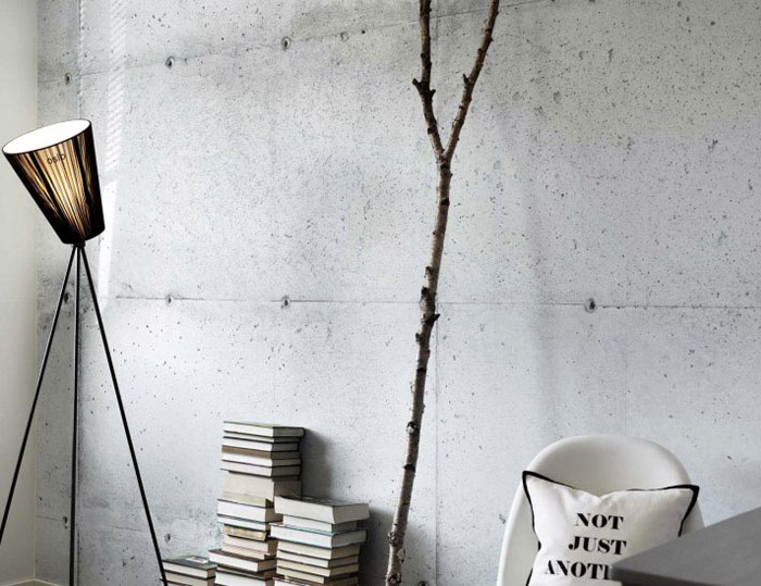 Concrete Wall Art : Concrete wall collection interiorzine