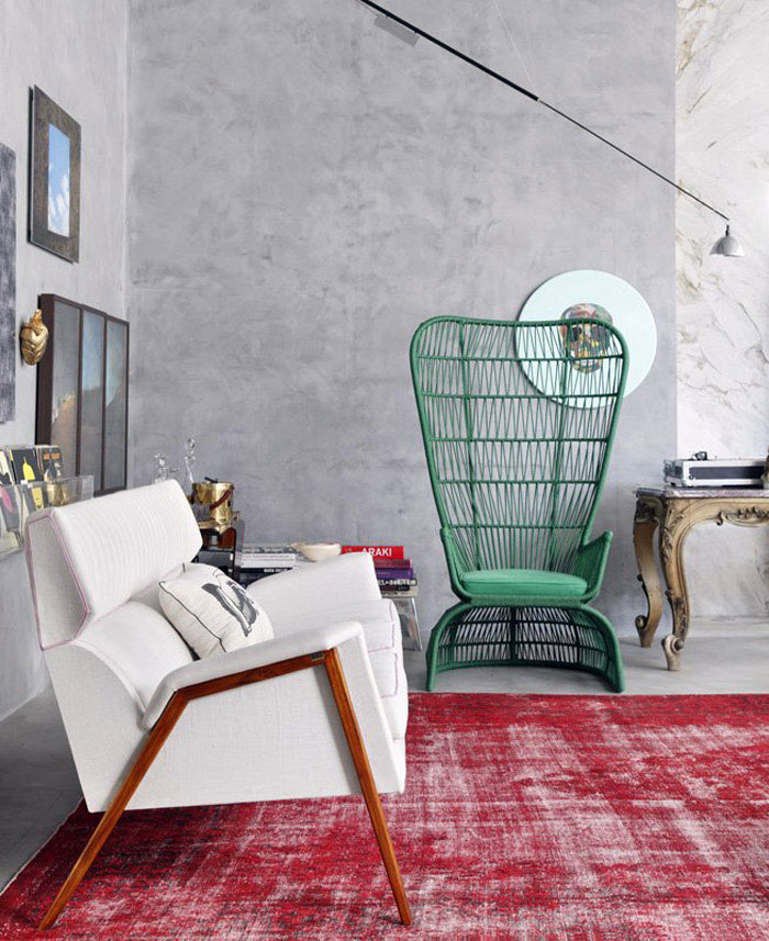 Eclectic decoration interiorzine for Interieur kleuren combineren