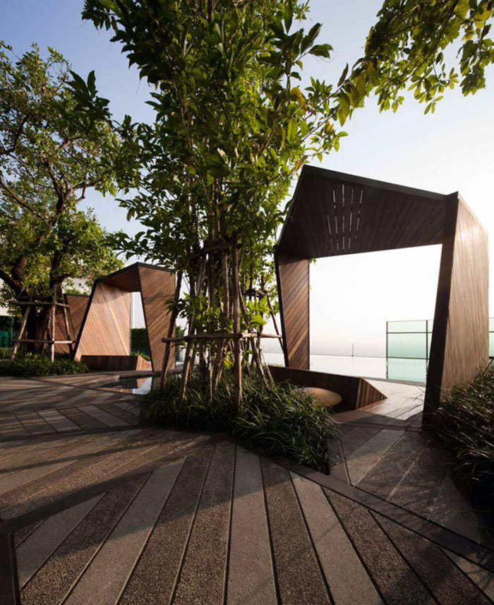 Condominium Garden by Shma Design garden shma design