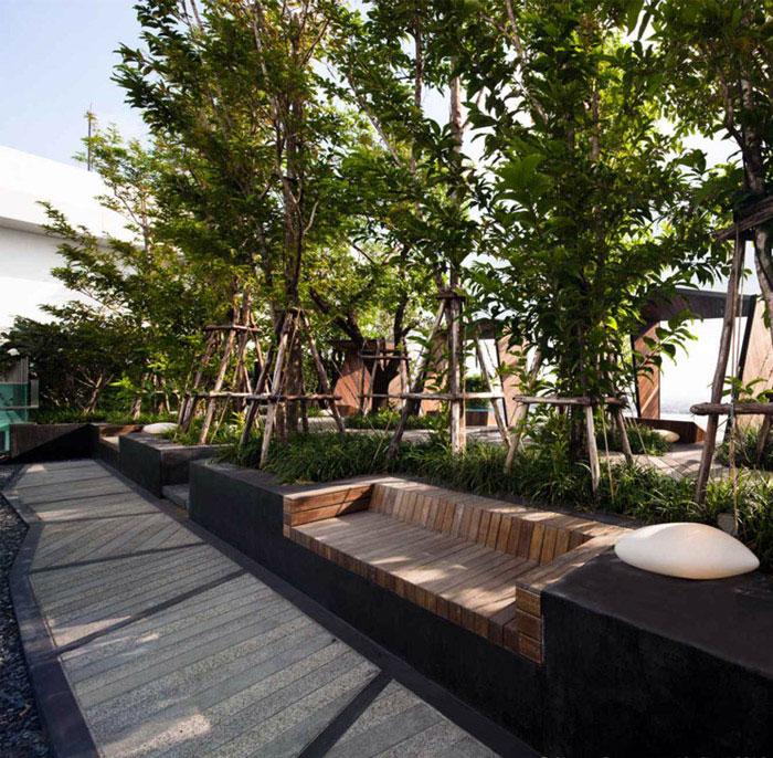 Condominium Garden By Shma Design Interiorzine