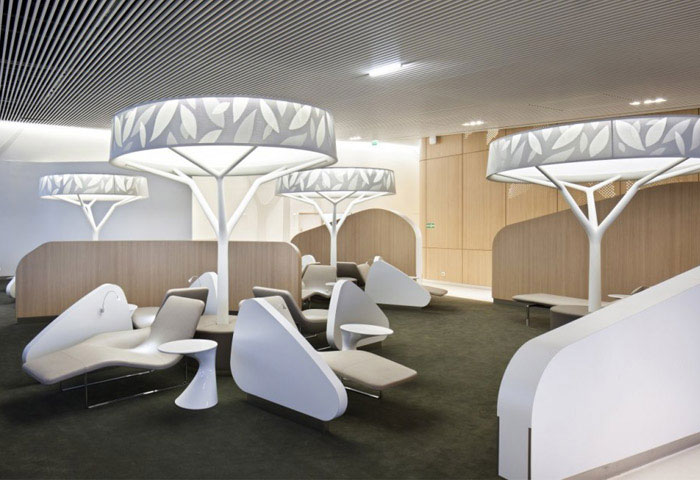 Business Lounge Concept Decor business lounge interior decor