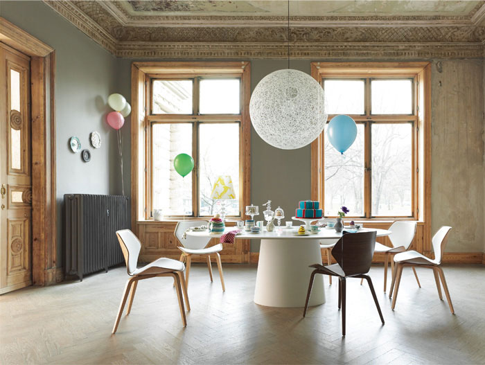 COR Is Following Natures Example cor furniture dining area
