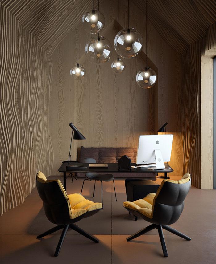 Attic concept office interiorzine for Office design concept