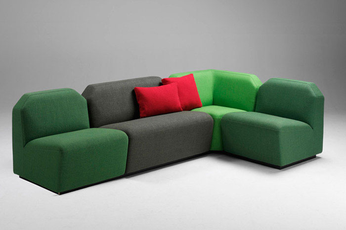 Public Seating With Soft And Inviting Shapes sofa public spaces