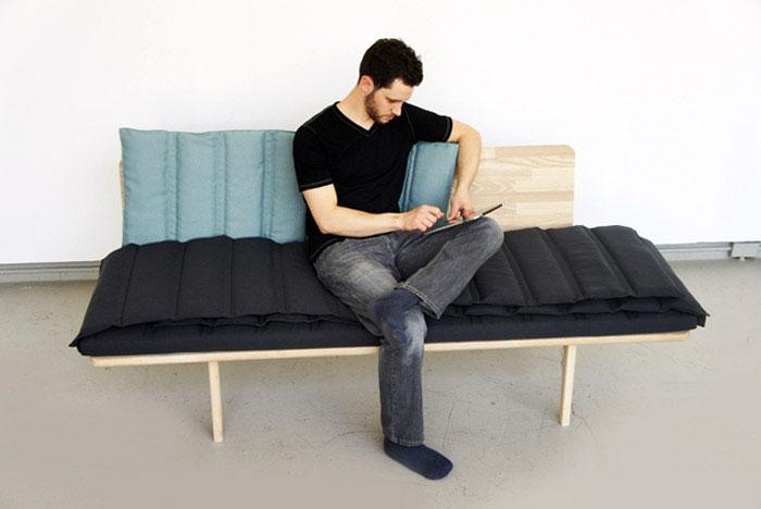 Tri fold Bench douglas leckie tri fold bench