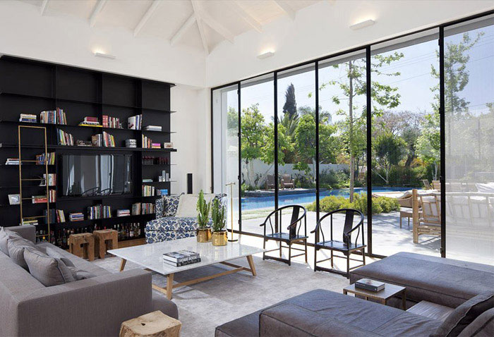 Designed That Elegant And Modern House In Ramat Hasharon Israel Via