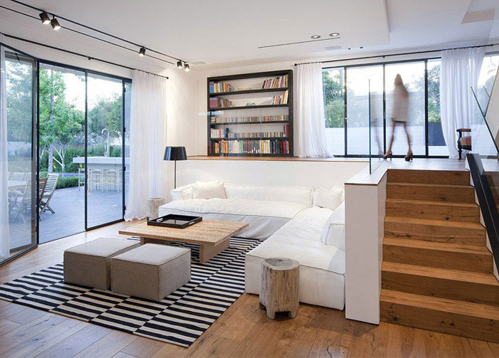 Elegant and Modern House elegant modern living area house