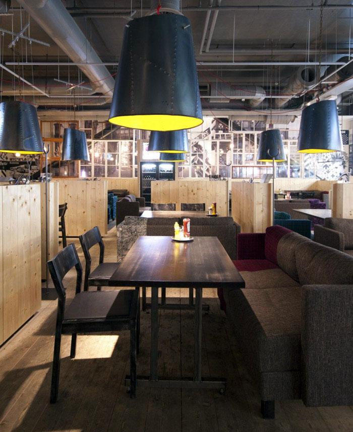 Re Designed Restaurant Interior Interiorzine