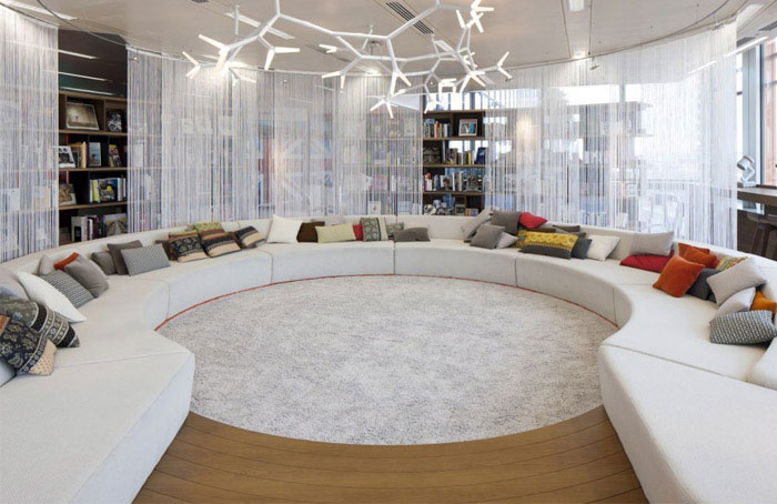 Google's new super HQ offices interior decor